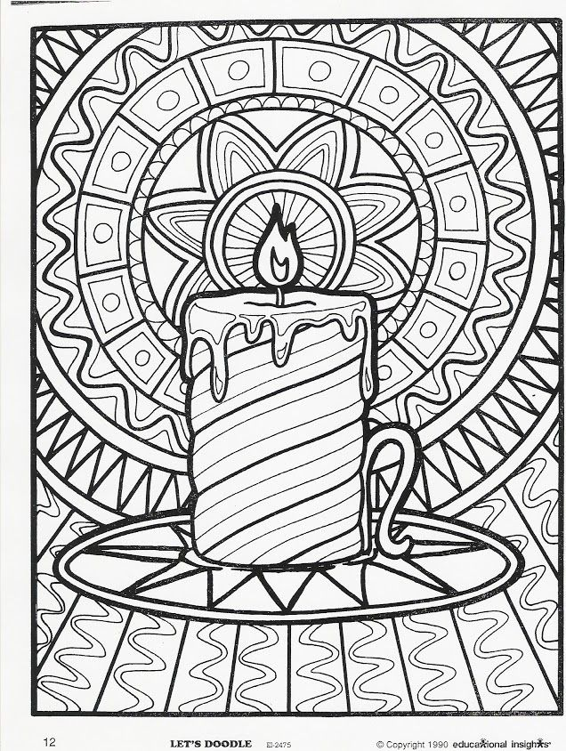 636x844 124 best christmas coloring pages images on adult