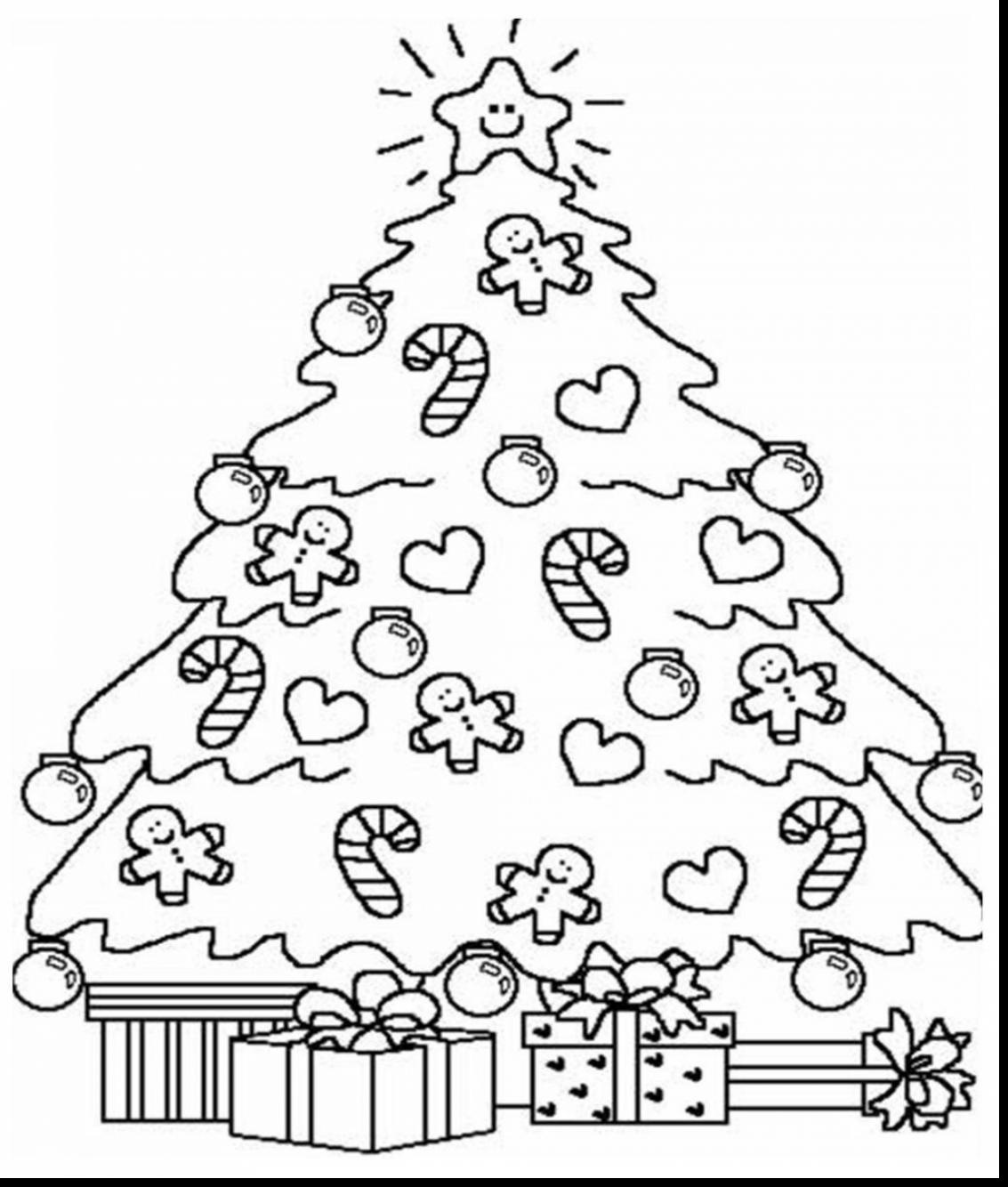Adult Christmas Tree Coloring Pages at GetColorings.com ...