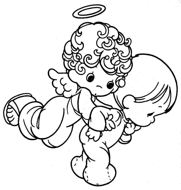 Angel Baby Coloring Pages