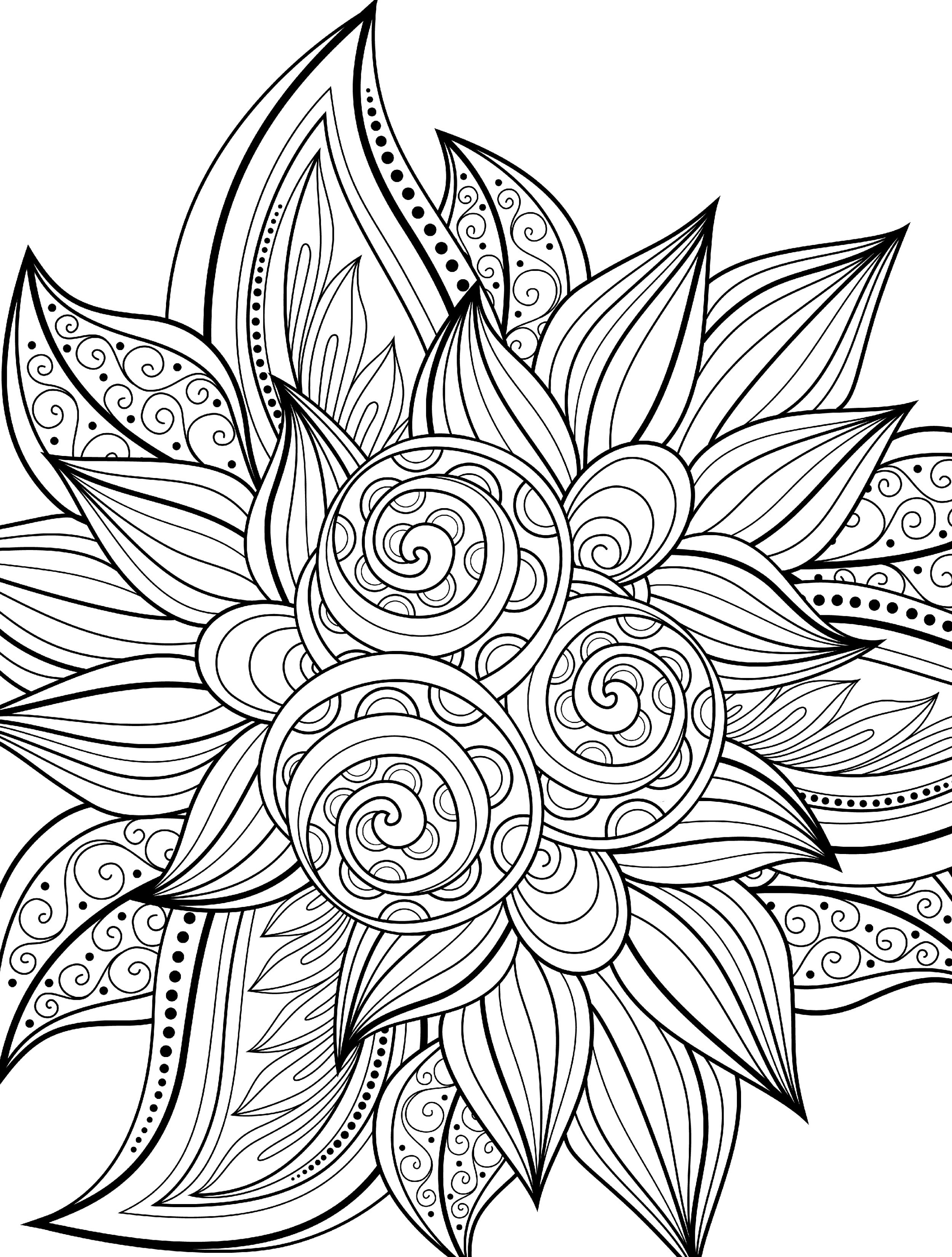 2500x3300 Well Suited Ideas Cool Coloring Pages For Adults To Print 10 Year