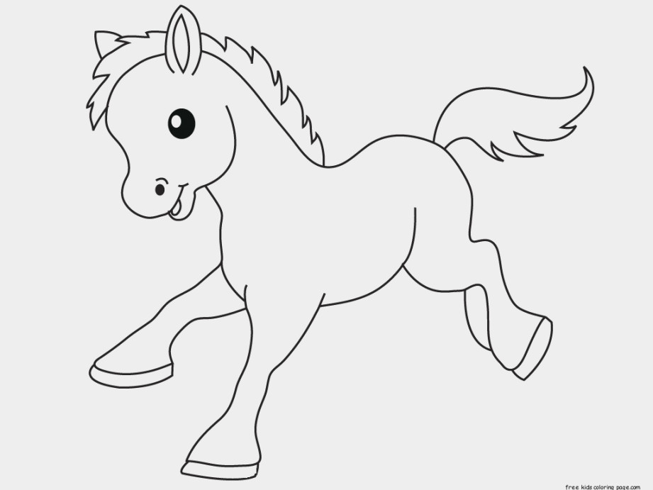 921x691 Animal Coloring Pages For 9 Year Olds Lovely Pony Baby Animals