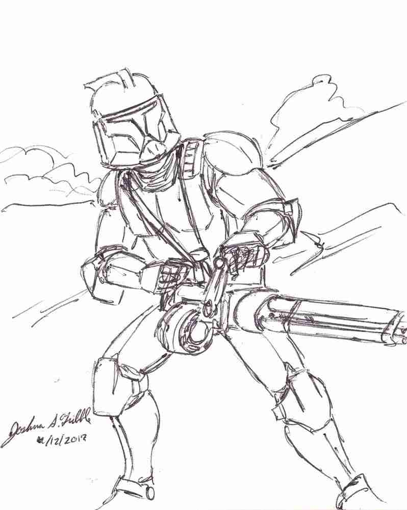 clone war coloring pages - photo#25