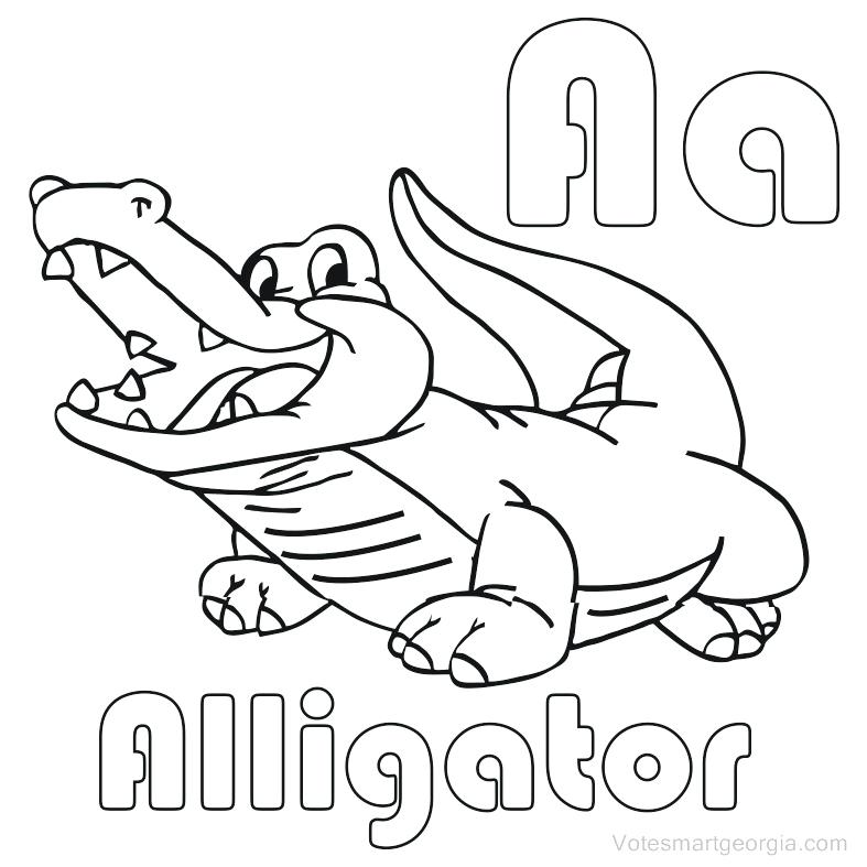 787x787 Free Alligator Coloring Pages Printable Coloring Pages For Kids