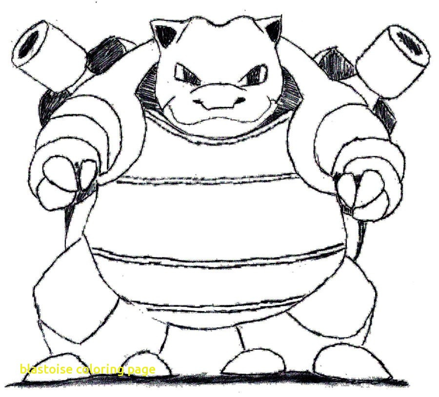 pokemon coloring pages of blastoise - photo#23
