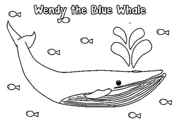 600x424 Wendy The Blue Whale Coloring Page