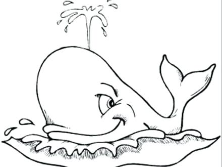 440x330 Whale Coloring Pages