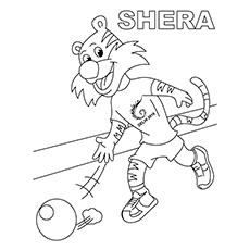 Bowling Coloring Pages Printable