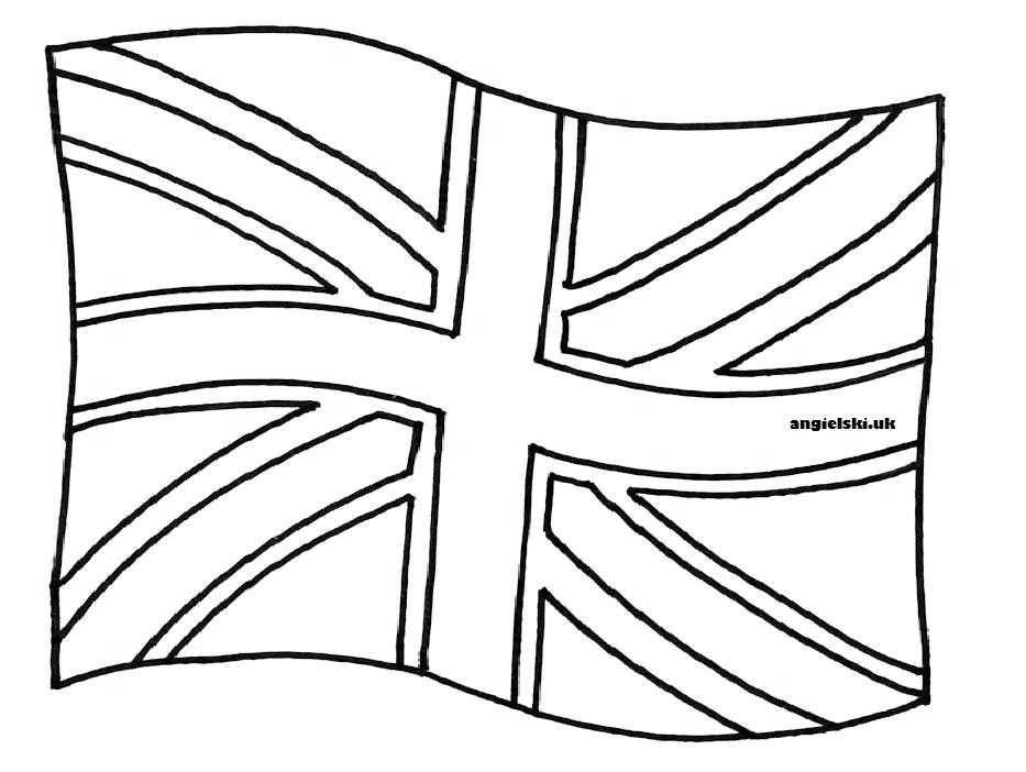British Flag Coloring Page At Getcolorings Com Free Printable