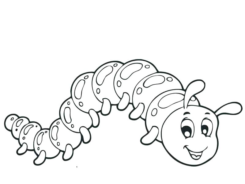 800x600 Caterpillar Coloring Page Caterpillar Coloring Page Cute