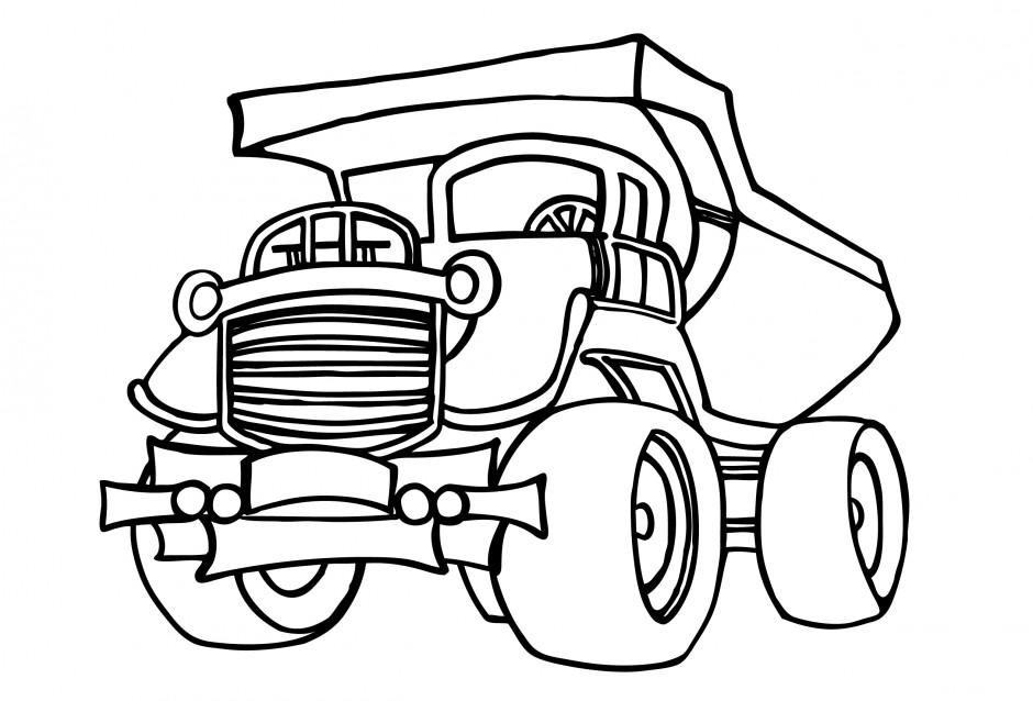 1956 Chevy Truck Drawing