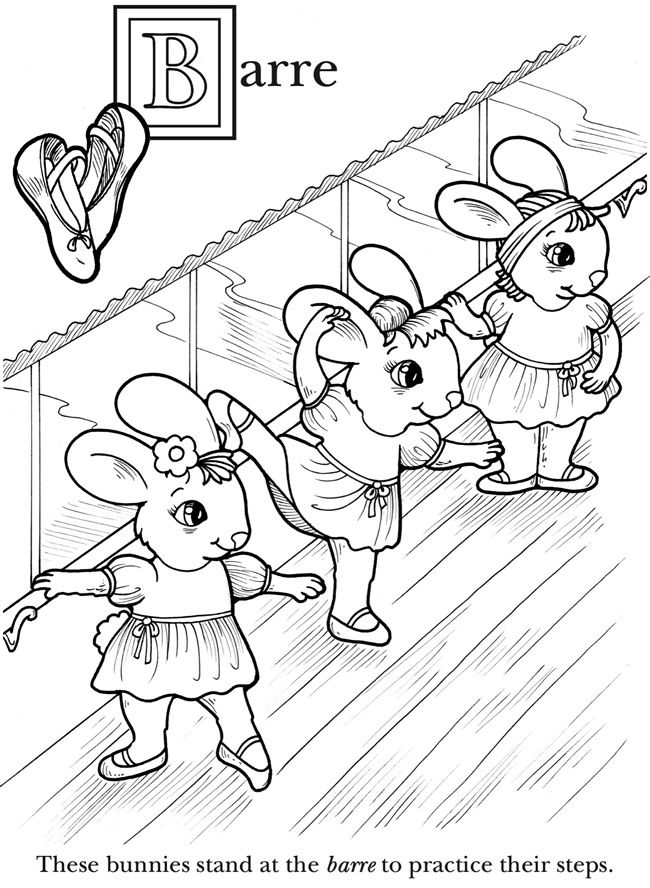 Children Dancing Coloring Pages