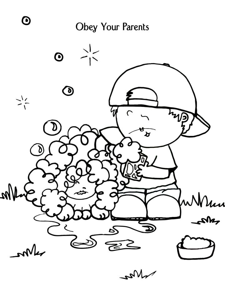 720x931 Parents Coloring Pages
