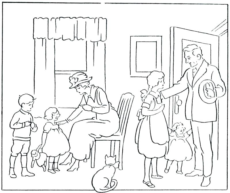 799x671 Parents Coloring Pages Parents Coloring Pages Parents Coloring