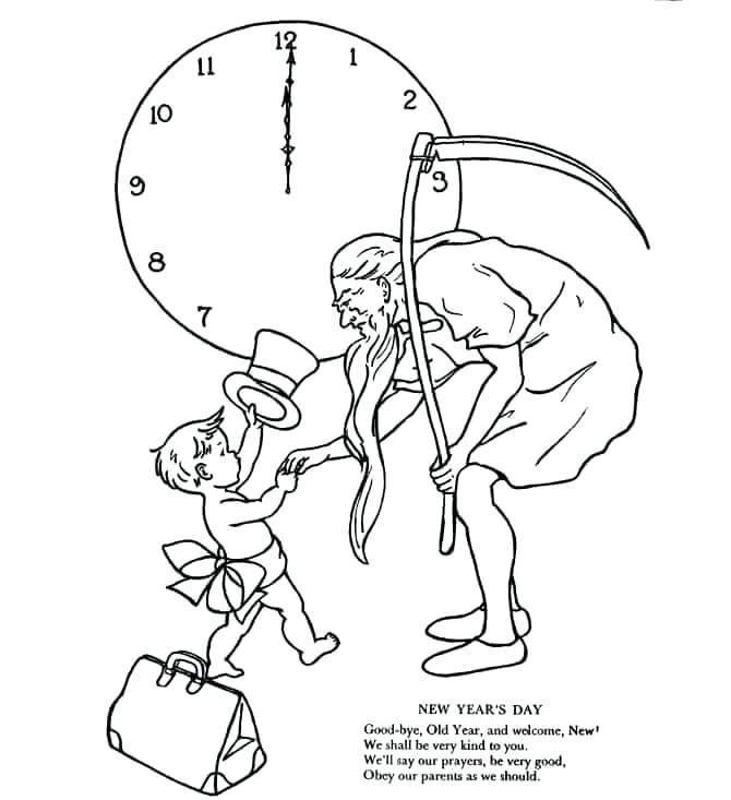 670x733 Unique Our Father Coloring Page And Father Time Coloring Page 41