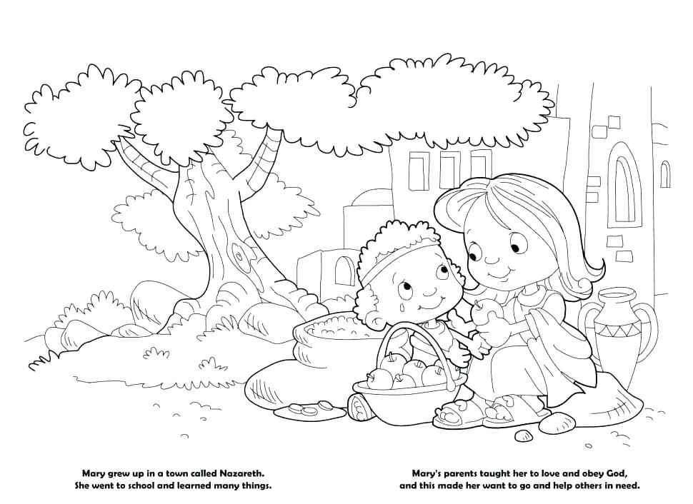970x706 Child Obeying Parents Coloring Page Pages Noel Name Girls Flood