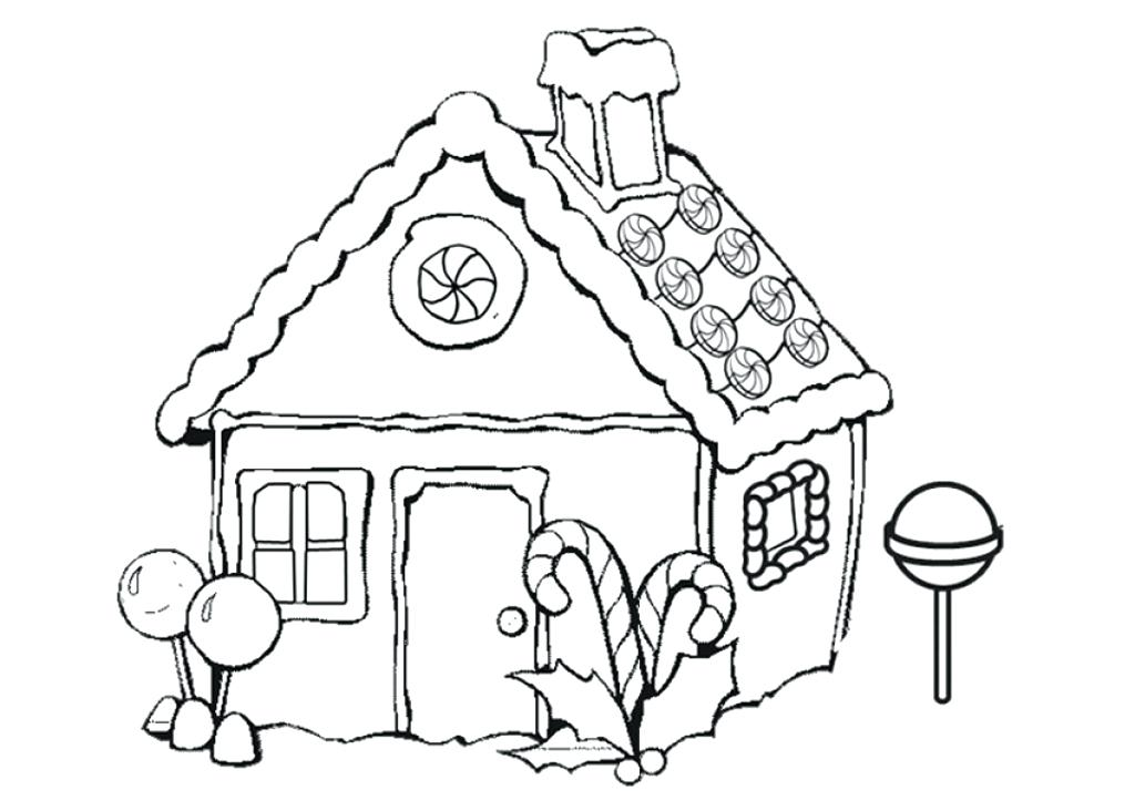 1024x723 coloring pages gingerbread house white house coloring sheet tree
