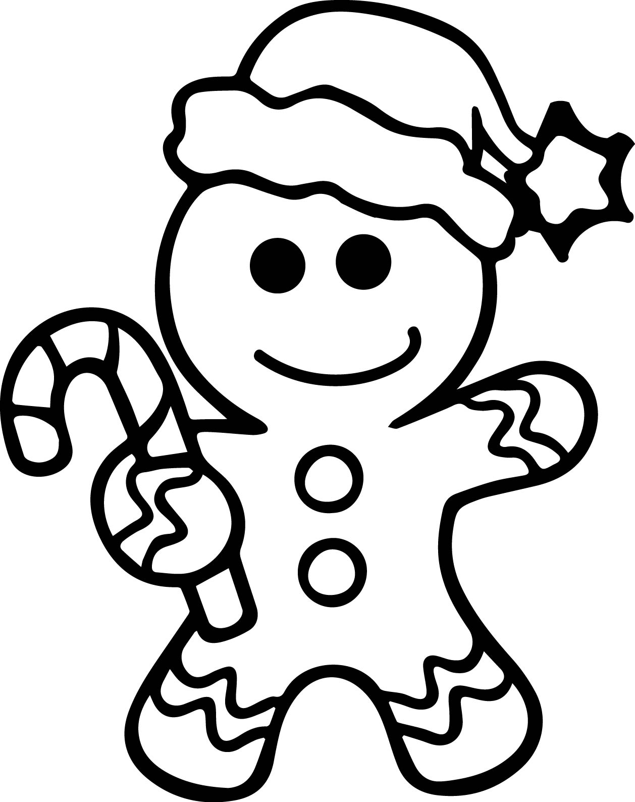 Gingerbread coloring page 2326065 750x425 gingerbread activities