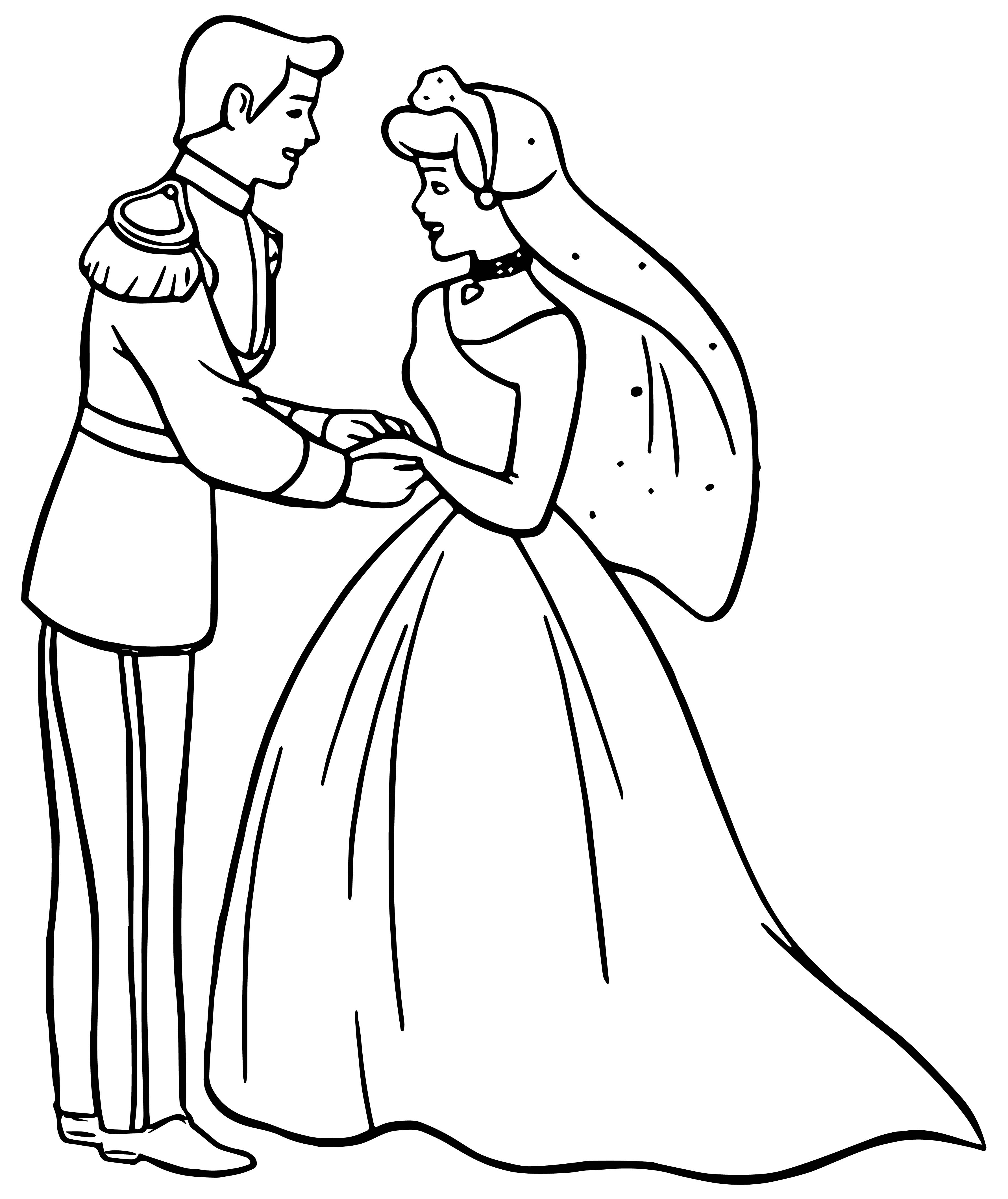 Cinderella Prince Charming Coloring Pages at GetColorings.com | Free ...