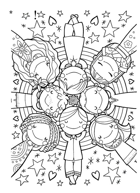 562x777 1369 Best Clip Artcolouring Images On Coloring Pages