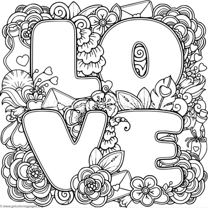 700x700 Free Downloads Love Zentangle Art 3 Coloring Pages