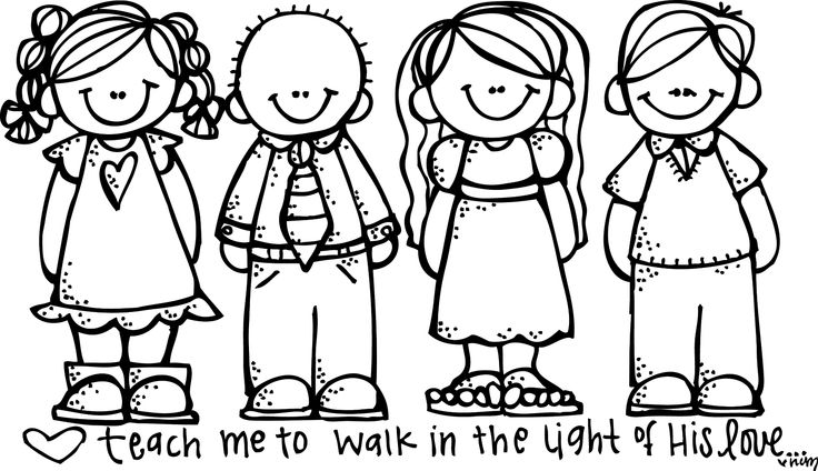 736x424 Kids For Coloring Free Kids Clip Art Coloring Pages Clip Art