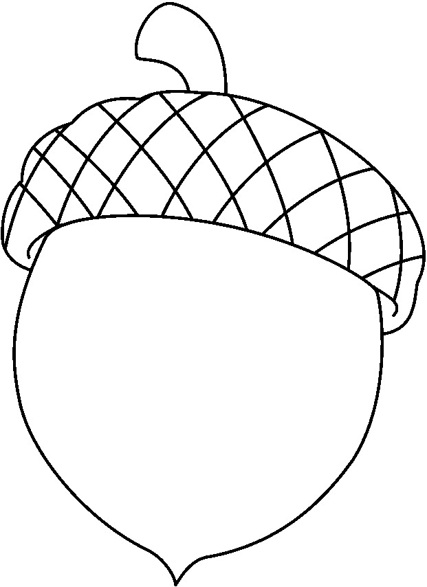 621x854 Acorn Coloring Pages