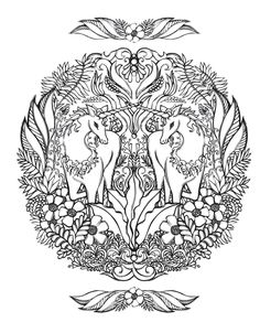 236x302 Unicorn Line Art Coloring Page Free Unicorn Clip Art Pictures