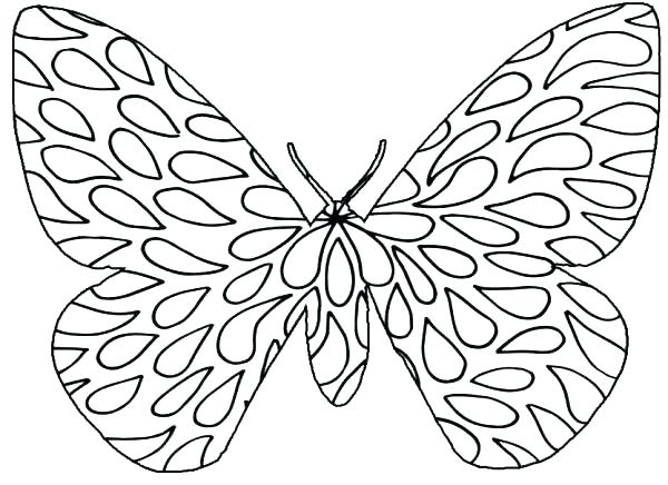600x436 Butterflies Coloring Pages Top Butterflies Coloring Pages Kids