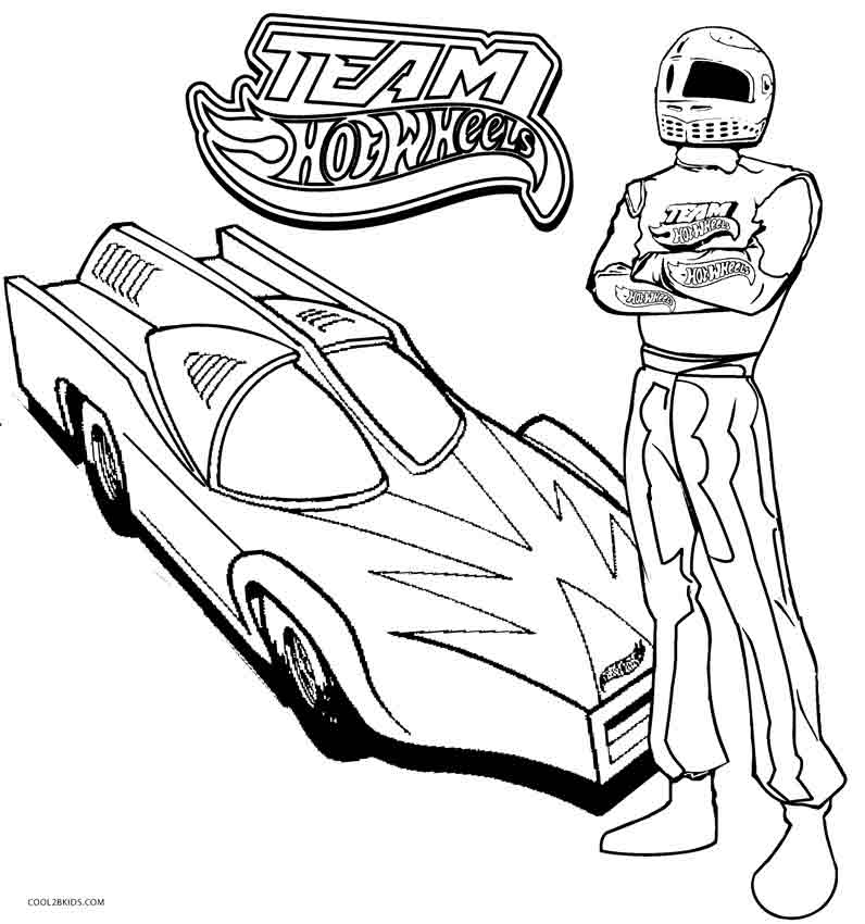 796x850 Printable Hot Wheels Coloring Pages For Kids Cool2bkids