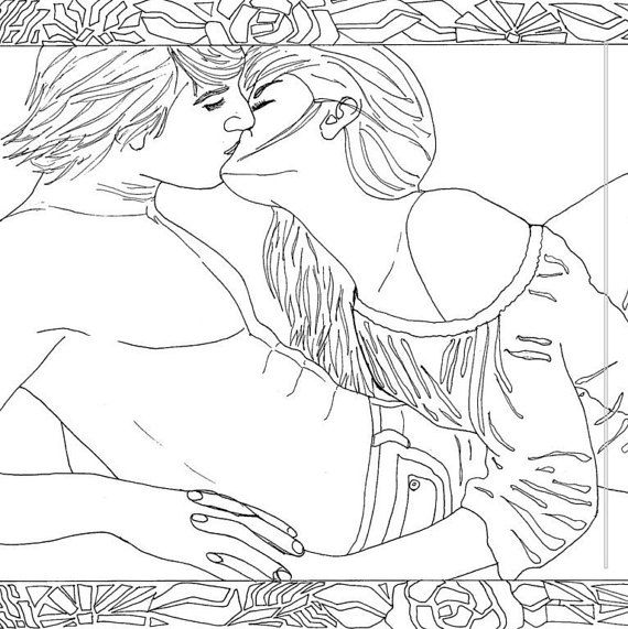 Coloring Pages Couples