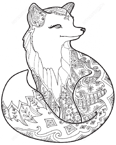 Coloring Pages For Adults Animal