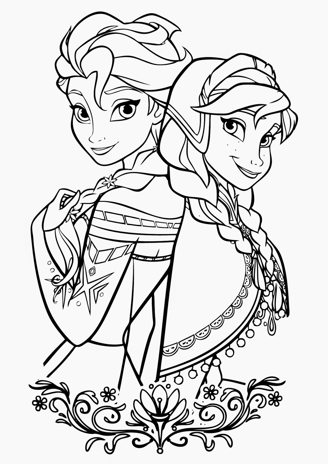 Coloring Pages For Adults Disney