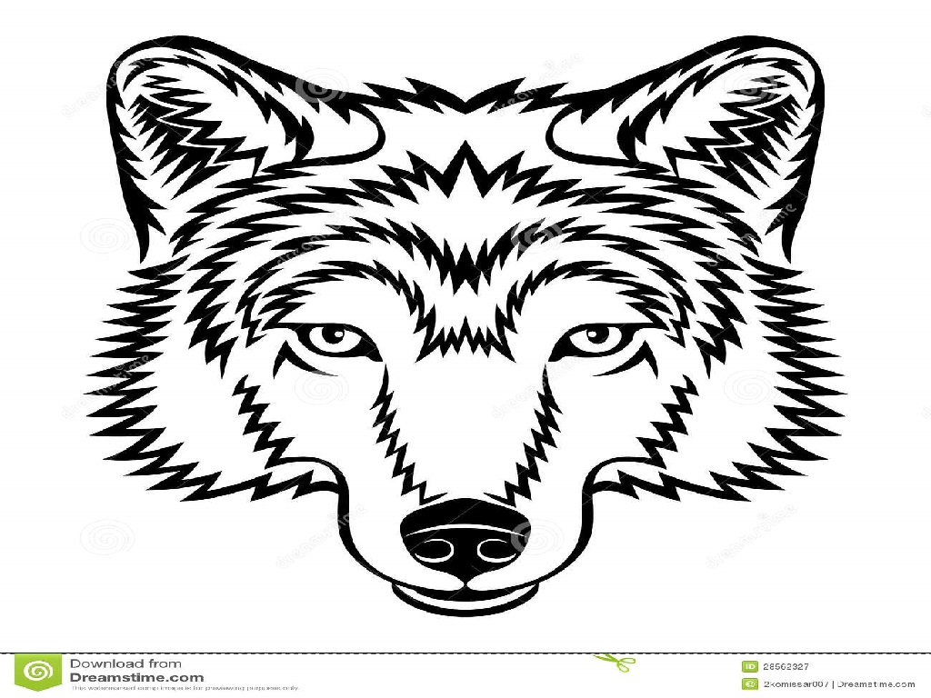 Coloring Pages For Adults Wolf