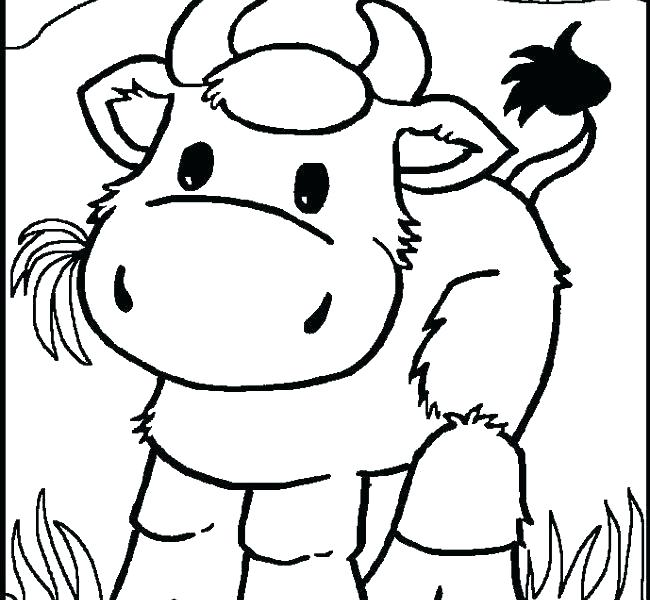Cow Coloring Pages at GetColorings.com | Free printable colorings ...