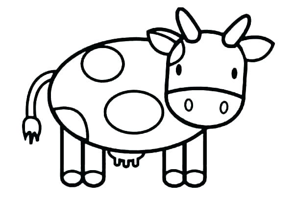 Cow Printable Coloring Pages at GetColorings.com | Free printable ...