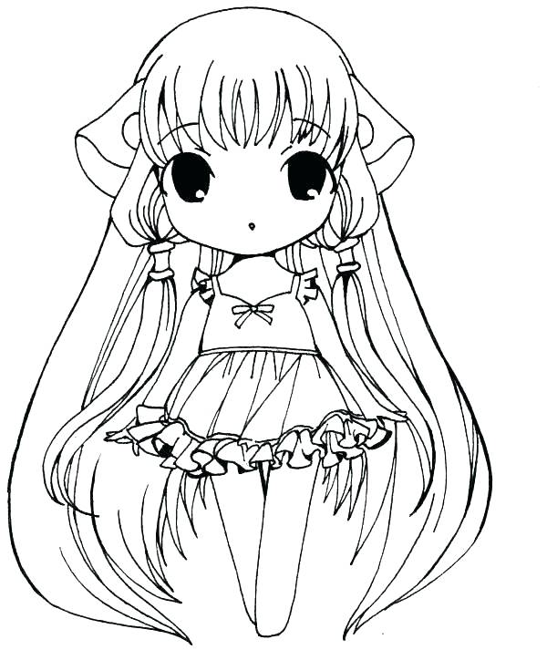 600x713 Anime Girl Coloring Pages Anime Angel Coloring Pages Coloring
