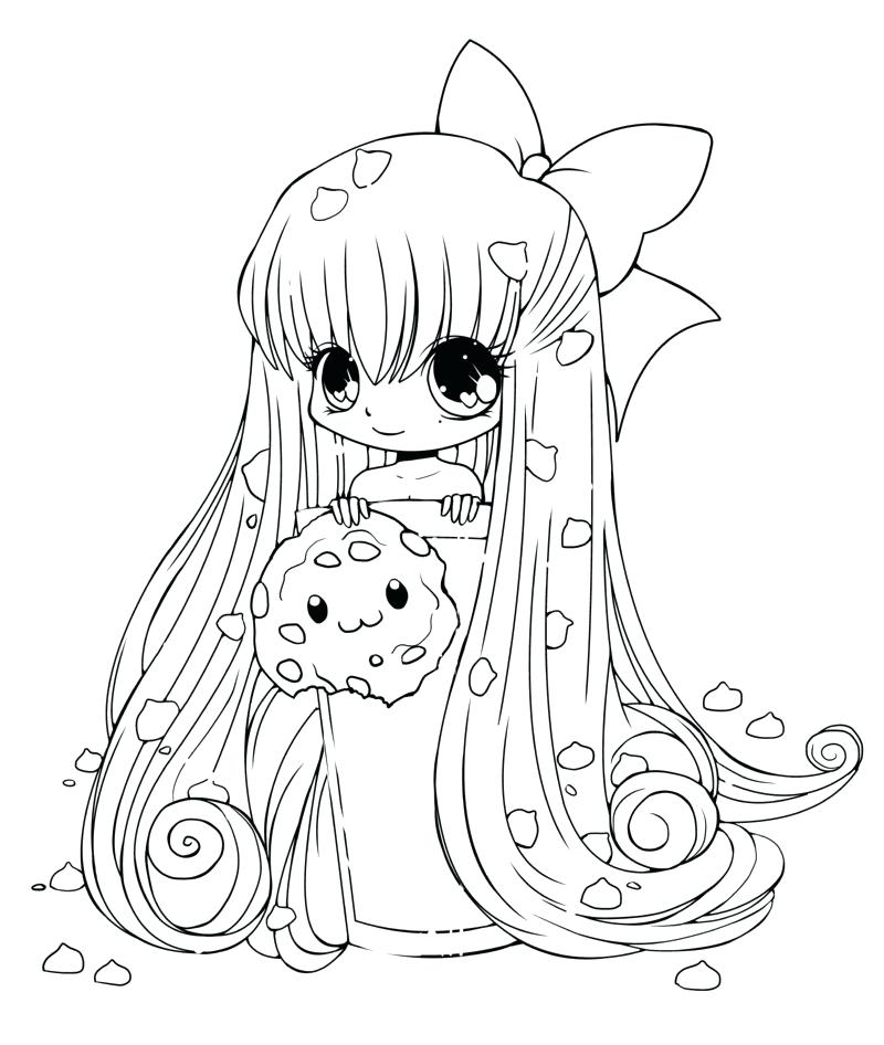 800x946 Cool Anime Coloring Pages With Anime Coloring Pages For Kids