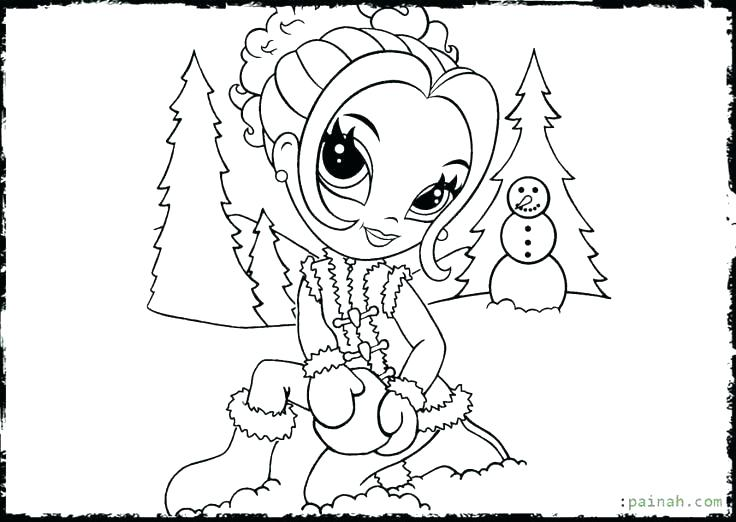 736x522 Cute Angel Coloring Pages For Adults Large Size Of Anime Pretty