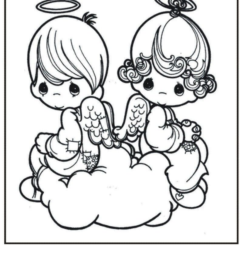 791x900 Fallen Angels Anime Coloring Pages Printable Pictures Of For Kids