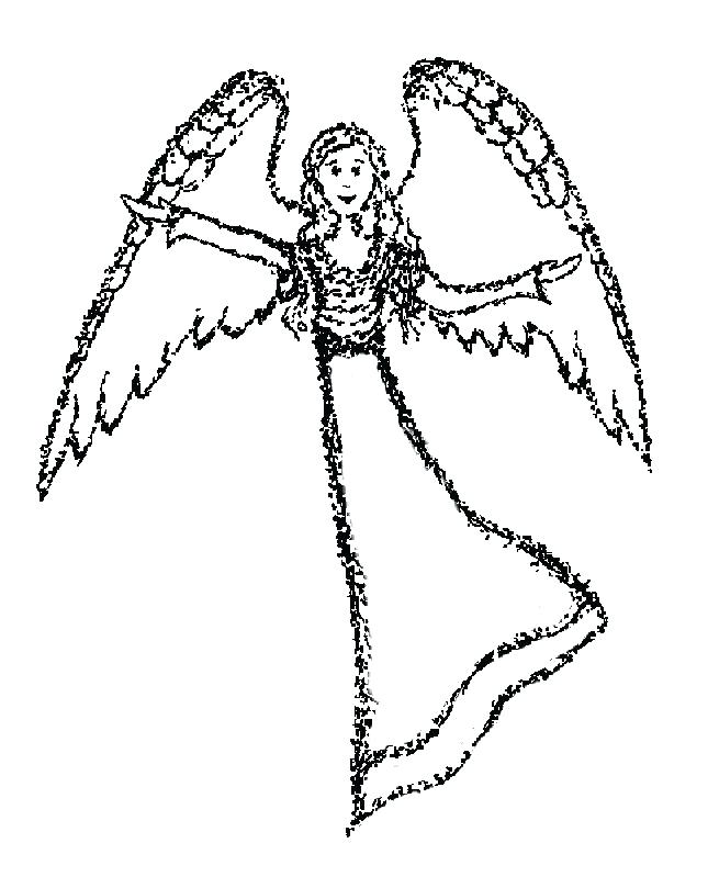 645x799 Free Angel Coloring Pages Perfect Free Printable Angel Coloring