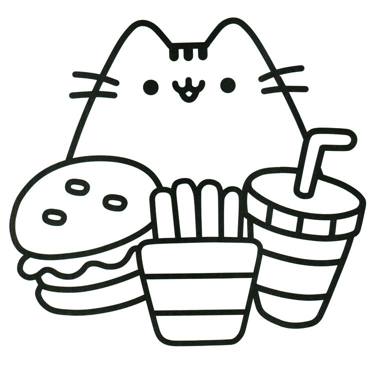 Cute Kawaii Coloring Pages