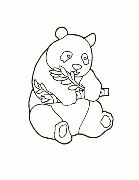450x583 23 Panda Bear Coloring Pages Collections Free Coloring Pages