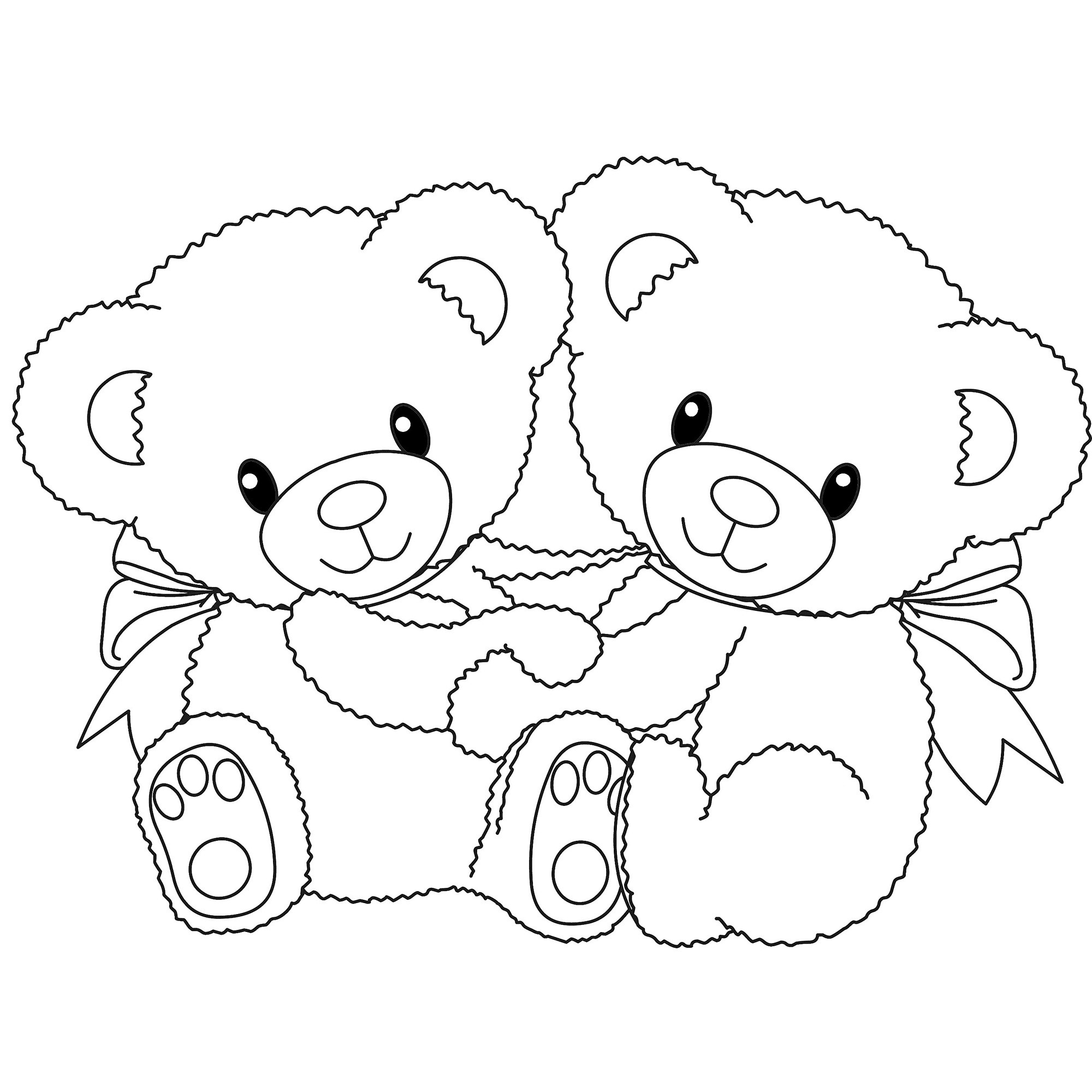 2000x2000 Panda Bear Coloring Pages Giant Panda Bear Coloring Page Free