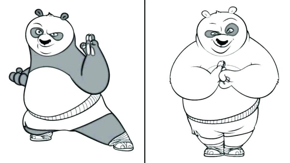 970x546 Panda Bear Coloring Pages Panda Coloring Pages Panda Coloring