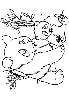 235x333 Top 25 Free Printable Cute Panda Bear Coloring Pages Online