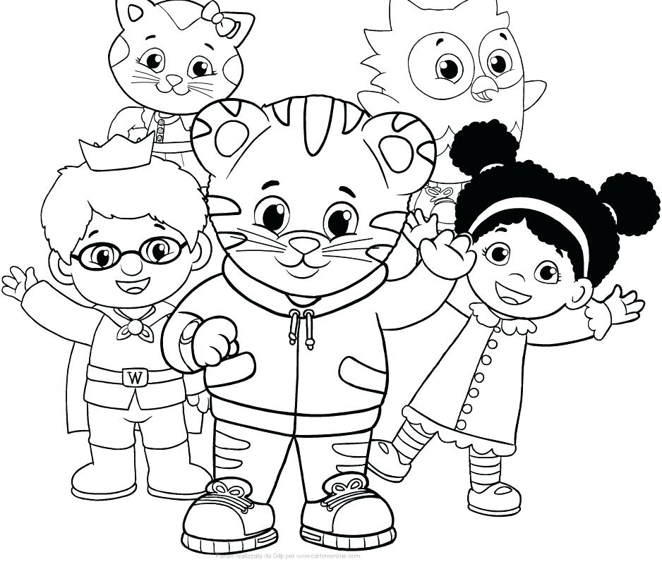 Sly image in daniel tiger printable