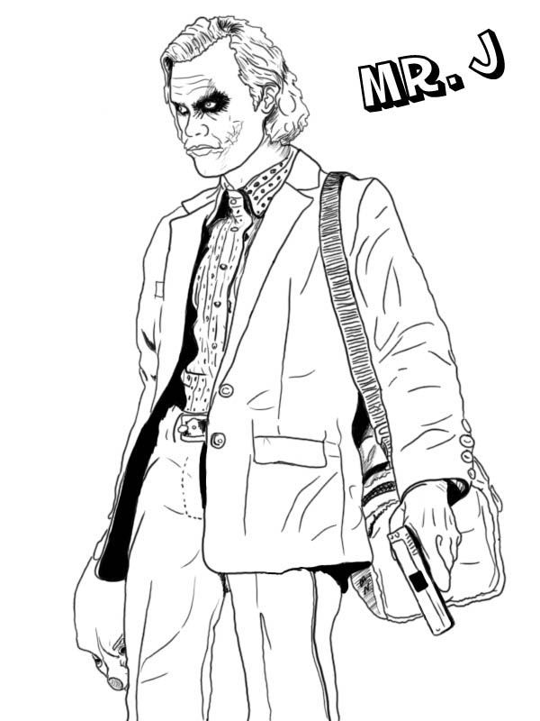 Deadshot Coloring Pages