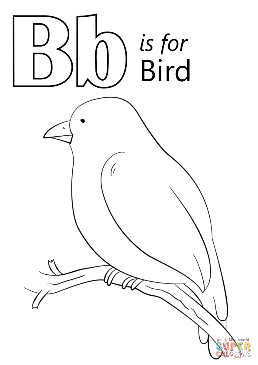 849x1200 Umbrella Bird Coloring Page