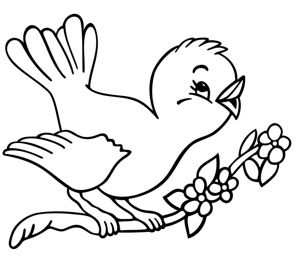 1024x898 Coloring Pages Of Birds 18159 Birds Coloring Pages Free Coloring
