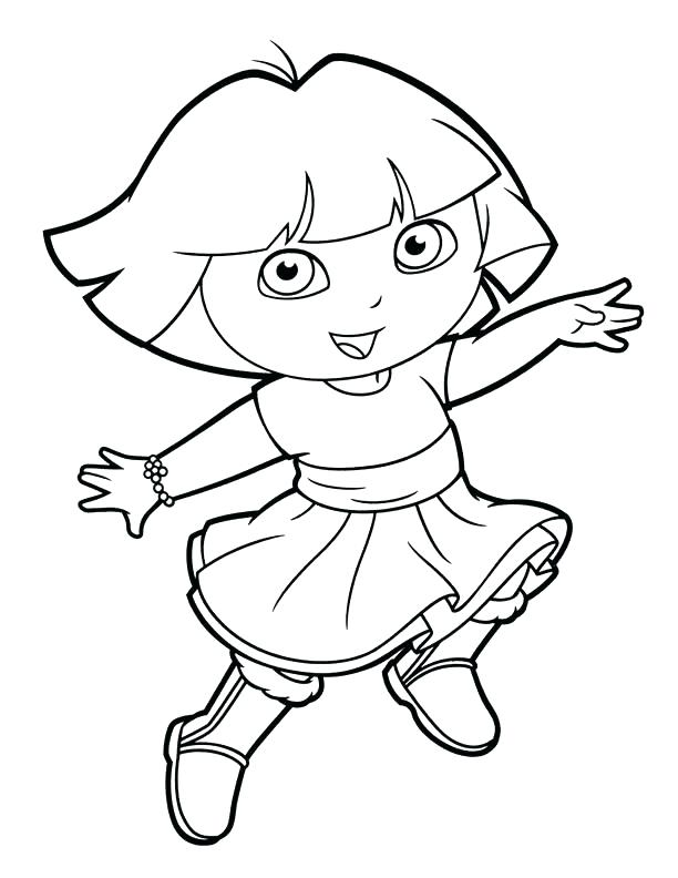 dora easter coloring pages - photo#11